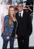 LOS ANGELES - AUG 20:  Mireille Enos & Alan Ruck arrives to the 'If I Stay' Hollywood Premiere  on August 20, 2014 in Hollywood, CA