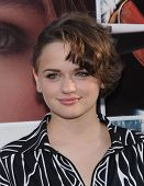 LOS ANGELES - AUG 20:  Joey King arrives to the 'If I Stay' Hollywood Premiere  on August 20, 2014 in Hollywood, CA