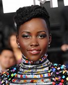 LOS ANGELES - APR 13:  Lupita Nyong'o arrives to the 2014 MTV Movie Awards  on April 13, 2014 in Los Angeles, CA.