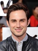 LOS ANGELES - APR 13:  Andrew J West arrives to the 2014 MTV Movie Awards  on April 13, 2014 in Los Angeles, CA.