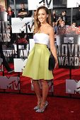 LOS ANGELES - APR 13:  Jessica Alba arrives to the 2014 MTV Movie Awards  on April 13, 2014 in Los Angeles, CA.