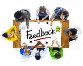 Multiethnic Group of People Discussing About Feedback