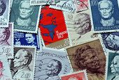 Tito on stamps