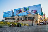 Quiet Boardwalk Atlantic City