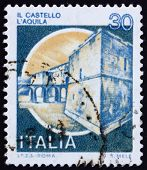 Postage Stamp Italy 1981 Castle Aquila