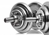 Dumbbells With Reflection
