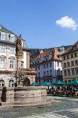Herkules Fountain Heidelberg, Germany