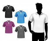 T-shirts male polo set