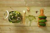 stock photo of ingredient  - Homemade preserves - JPG