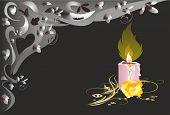 single candle
