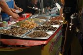 Fried Edible Insects