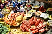 Ceramics Exposed For Sale On Cours Saleya