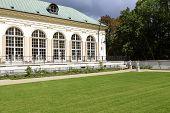 Old Orangery In Lazienki In Warsaw In Poland