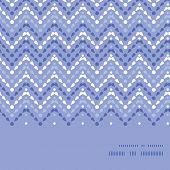 Vector purple drops chevron horizontal frame seamless pattern background