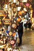 Hanging Turkish lanterns