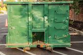 Green Construction Dumpster