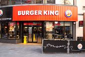 burger king London