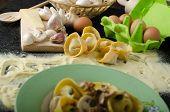 Pasta Of The Italian Semolina Flour - Tortellini