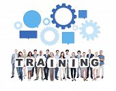 Training Business People Team Teamwork Success Strategy Concept