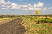Dead End Ahead Sign