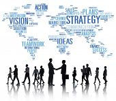 Strategy Analysis World Vision Mission Planning Concept