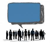 Social Networking Communication Technology Speech Bubble Concept