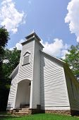 Old colonial church from 1800s