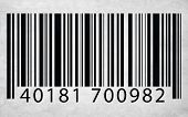 Bar Code Marketing Data Identity Concept
