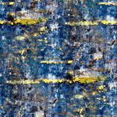 seamless texture of blue walls of the old