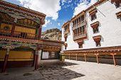 pic of buddhist  - Hemis monastery the buddhist temple in Leh Ladakh  - JPG