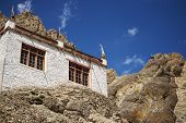 A beautiful house in the complex of Hemis monastery Leh Ladakh ,India