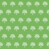 Trees On A Green Background