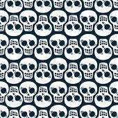 Skeleton texture, seamless