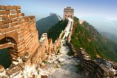 pic of qin dynasty  - This is the authentic Simatai section of the Great Wall of China situated north of Beijing - JPG