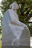 Russia. Tambov. Monument To The Writer Sergei Nikolayevich Sergeyev-tsensky