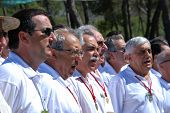 Spanish male voice choir, Marbella.