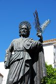 Statue of Saint Bernard, Marbella.