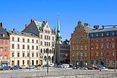 Stockholm. Sweden. View of Gamla Stan