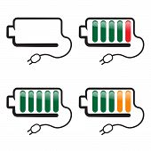 Battery With Charge Indicator