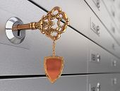 Key In The Safe Deposit Box