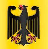 3D German coat of arms