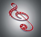 Treble Clef. Musical Note