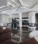 Modern Luxury Interior In Daylight