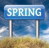 spring time season vacation holliday