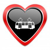 picture of tram  - tram icon public transport sign - JPG