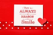 There Is Always Reason To Smile!
