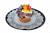 Cupcake, decorated