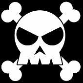 Illustration Of A Skull
