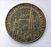 Old coins, Austria, Europe