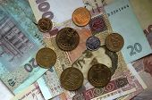 Ukrainian Money Background